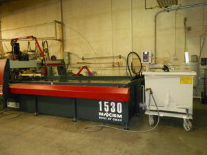 WaterJet Maxiem 1530 300x225 Why Choose Waterjet Cutting for Your Metalworking Project?